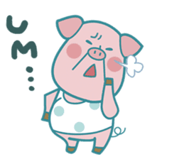 Piggy the 3 Big Pigs (English Sticker)2 sticker #5694169