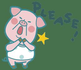 Piggy the 3 Big Pigs (English Sticker)2 sticker #5694171