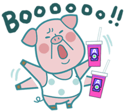 Piggy the 3 Big Pigs (English Sticker)2 sticker #5694172