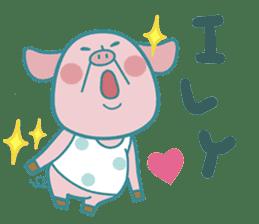Piggy the 3 Big Pigs (English Sticker)2 sticker #5694175