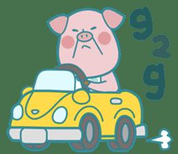 Piggy the 3 Big Pigs (English Sticker)2 sticker #5694176