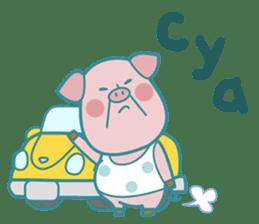 Piggy the 3 Big Pigs (English Sticker)2 sticker #5694177