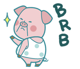 Piggy the 3 Big Pigs (English Sticker)2 sticker #5694178