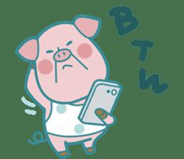 Piggy the 3 Big Pigs (English Sticker)2 sticker #5694180