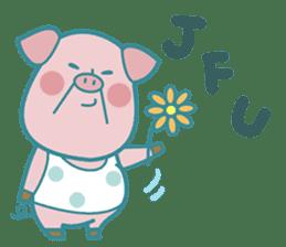 Piggy the 3 Big Pigs (English Sticker)2 sticker #5694183
