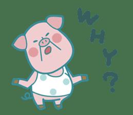 Piggy the 3 Big Pigs (English Sticker)2 sticker #5694184