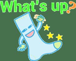Socks series (English) sticker #5695076
