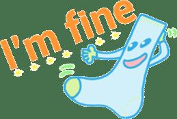 Socks series (English) sticker #5695077