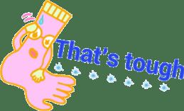 Socks series (English) sticker #5695098