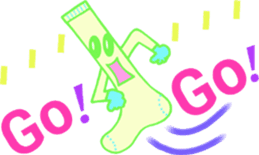 Socks series (English) sticker #5695108