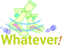Socks series (English) sticker #5695110