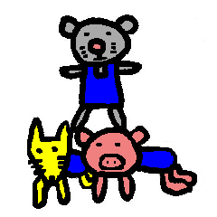 happy animal family part2