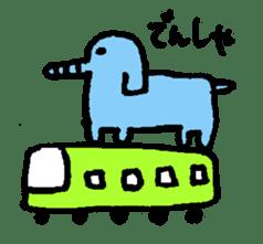 happy animal family part2 sticker #5697855