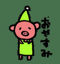 happy animal family part2 sticker #5697860