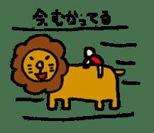 happy animal family part2 sticker #5697875