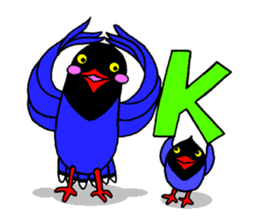 Taiwanese national bird(Coo-chan) sticker #5701276