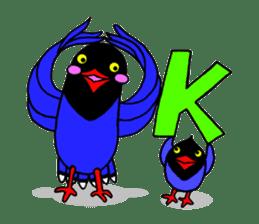 Taiwanese national bird(Coo-chan) sticker #5701276