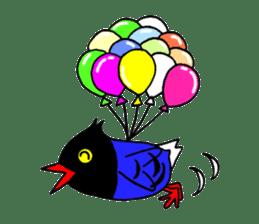 Taiwanese national bird(Coo-chan) sticker #5701292