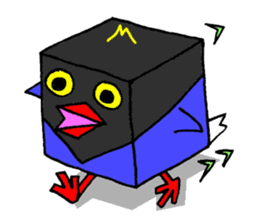 Taiwanese national bird(Coo-chan) sticker #5701315