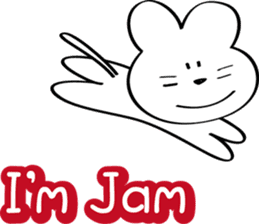 I am Jam sticker #5705712