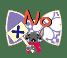 Small cat  (English) sticker #5706199