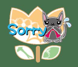 Small cat  (English) sticker #5706201
