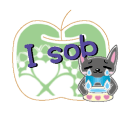 Small cat  (English) sticker #5706203
