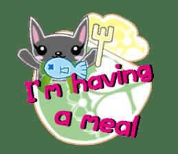 Small cat  (English) sticker #5706219