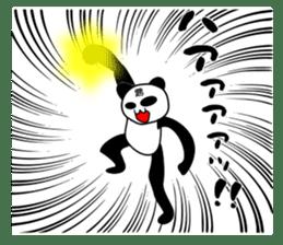 bit bad pandas sticker #5707124