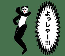 bit bad pandas sticker #5707127