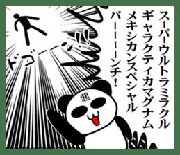 bit bad pandas sticker #5707138