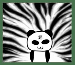 bit bad pandas sticker #5707144