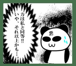 bit bad pandas sticker #5707145