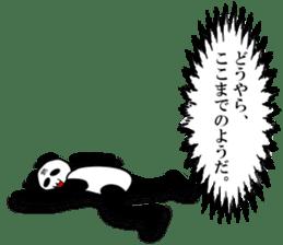 bit bad pandas sticker #5707148
