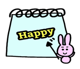 Feelings represent card sticker #5707556