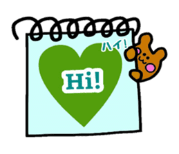 Feelings represent card sticker #5707559