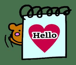 Feelings represent card sticker #5707560