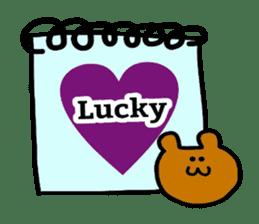 Feelings represent card sticker #5707561