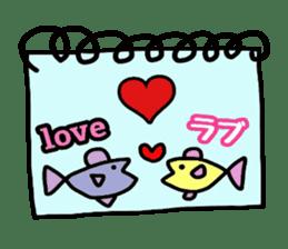 Feelings represent card sticker #5707563