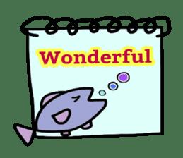 Feelings represent card sticker #5707564
