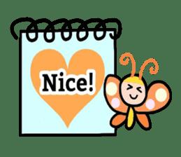 Feelings represent card sticker #5707575
