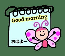 Feelings represent card sticker #5707576