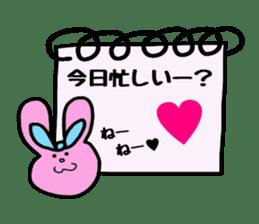 Feelings represent card sticker #5707588