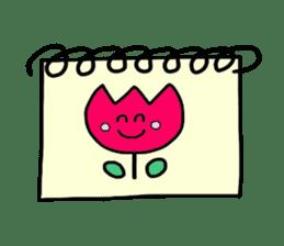 Feelings represent card sticker #5707595