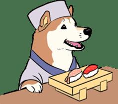 Shiba Inu, the brushwood dog from Japan sticker #5717022