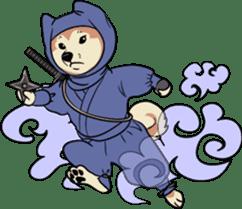 Shiba Inu, the brushwood dog from Japan sticker #5717026
