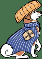 Shiba Inu, the brushwood dog from Japan sticker #5717030