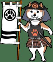 Shiba Inu, the brushwood dog from Japan sticker #5717033