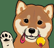 Shiba Inu, the brushwood dog from Japan sticker #5717034