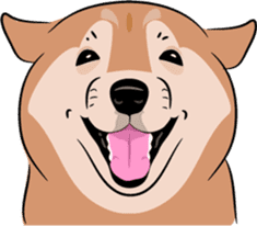 Shiba Inu, the brushwood dog from Japan sticker #5717055